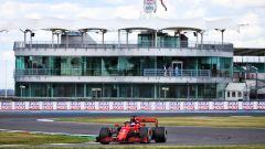 GP Gran Bretagna 2020, Silverstone: Sebastian Vettel (Ferrari)