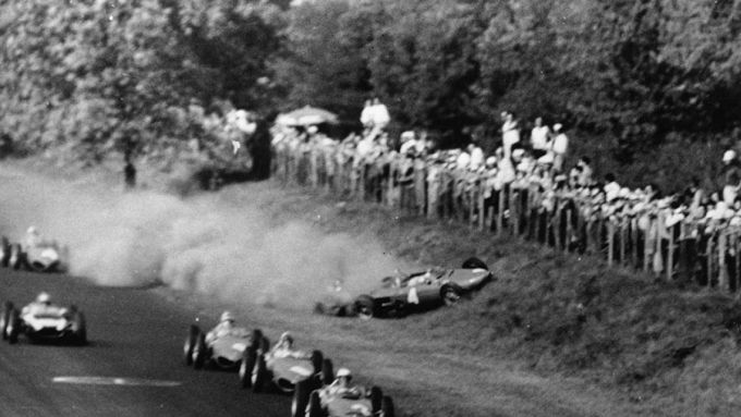 GP Italia 1961, Monza: il terribile incidente di Wolfgang Von Trips (Ferrari)