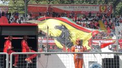 GP Italia 2018, il cuore rosso pulsa forte sugli spalti dell'Autodromo di Monza