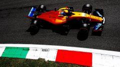 GP Italia 2018, Monza, Fernando Alonso in azione con la sua McLaren