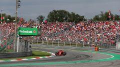 GP Italia 2018, Monza, Kimi Raikkonen alla curva Parabolica