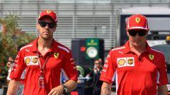 GP Italia 2018, Monza, Kimi Raikkonen e Sebastian Vettel