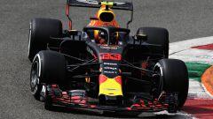 GP Italia 2018, Monza, Max Verstappen in azione con la sua Red Bull
