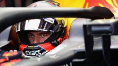 GP Italia 2018, Monza, Max Verstappen nell'abitacolo della sua Red Bull