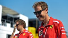 GP Italia 2018, Monza, Sebastian Vettel, pilota della Ferrari