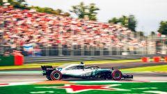 GP Italia 2018, Monza, Valtteri Bottas in azione con la sua Mercedes