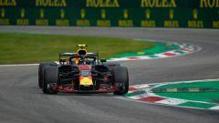 GP Italia 2018, qualifiche Monza, Max Verstappen in azione con la sua Red Bull