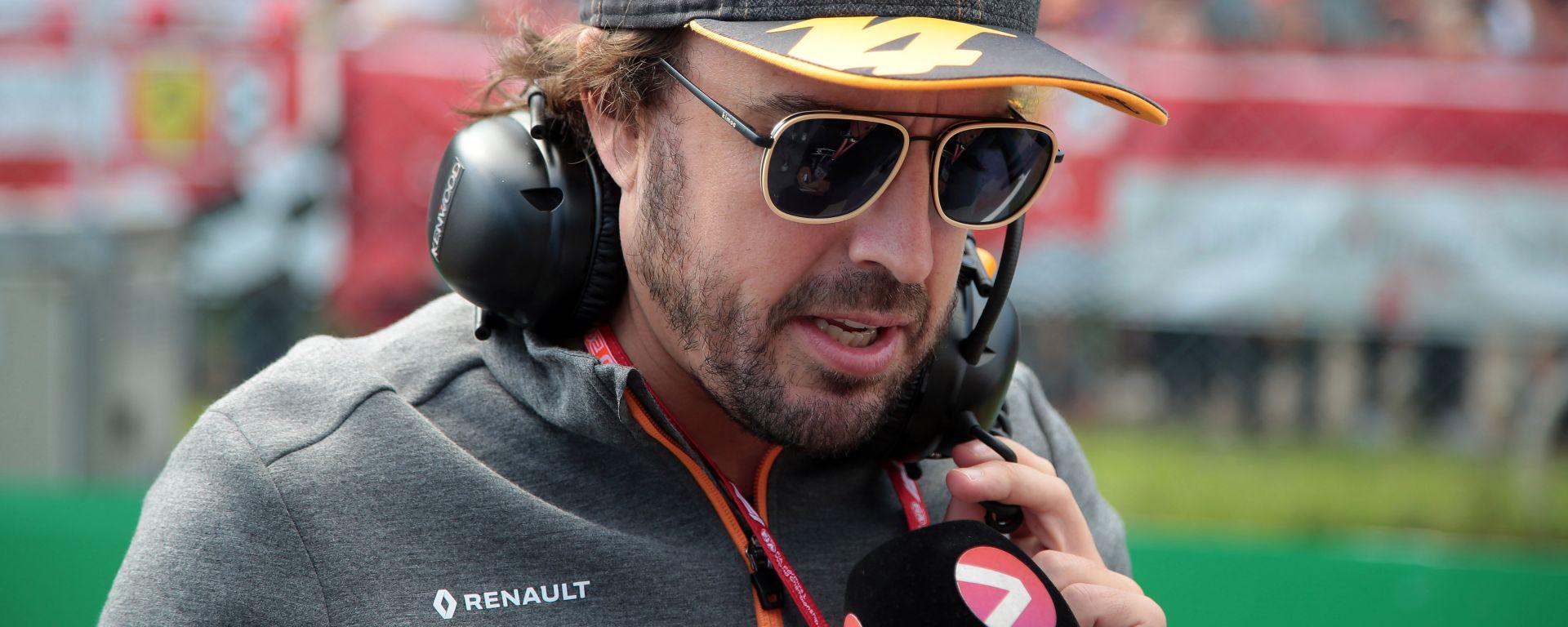 GP Italia 2019, Monza: Fernando Alonso (McLaren)