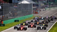 GP Italia 2019, Monza: la partenza