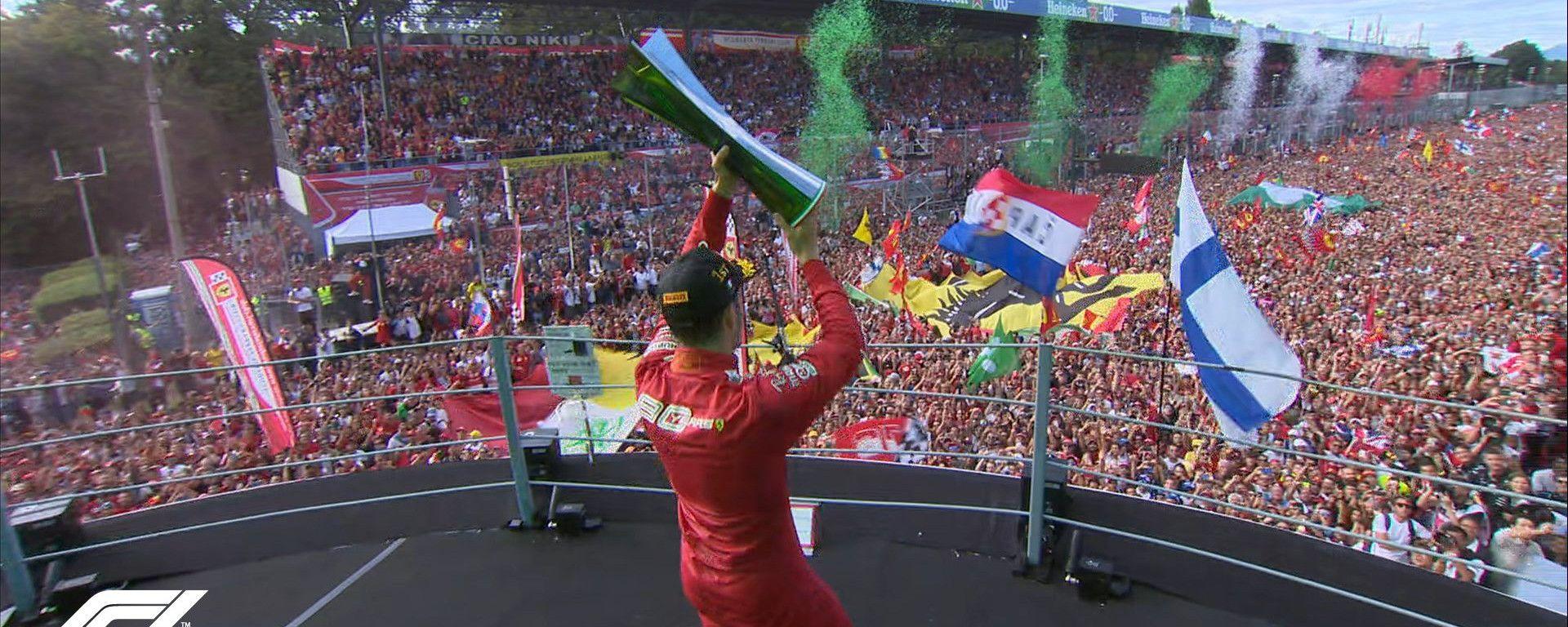 GP Italia 2019: Monza vede rosso, trionfo sudato per Leclerc