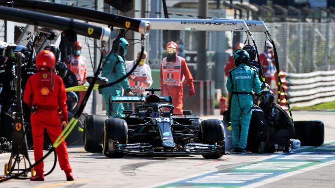 GP Italia 2020, Monza: Lewis Hamilton (Mercedes)