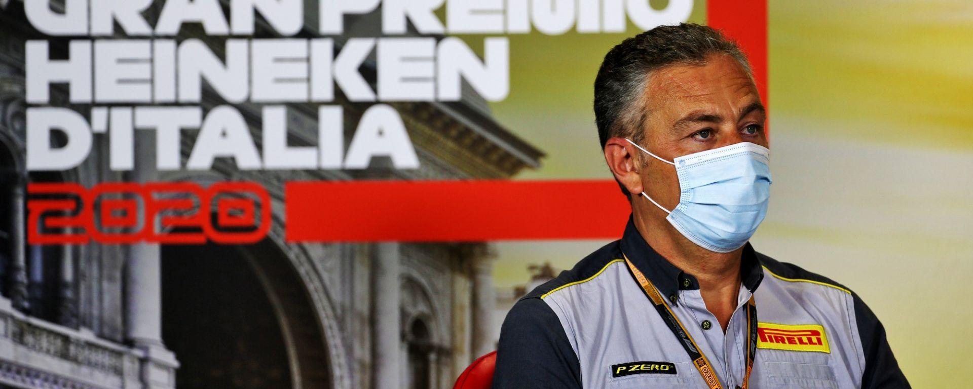GP Italia 2020, Monza: Mario Isola (Pirelli)