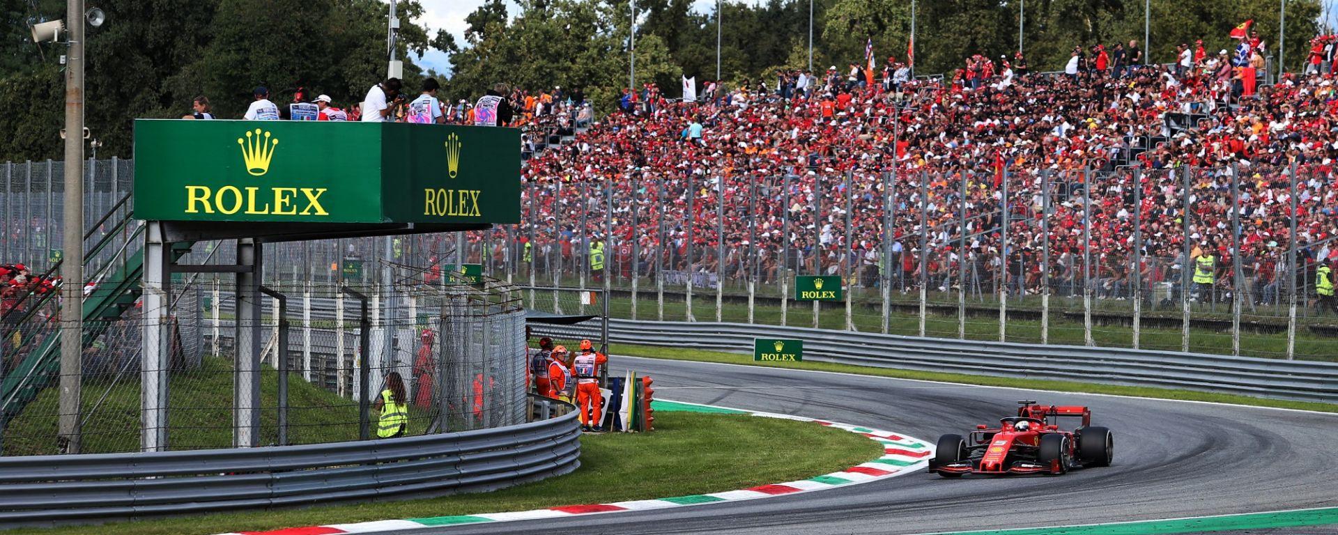 GP Italia 2020, Monza: Sebastian Vettel (Ferrari)