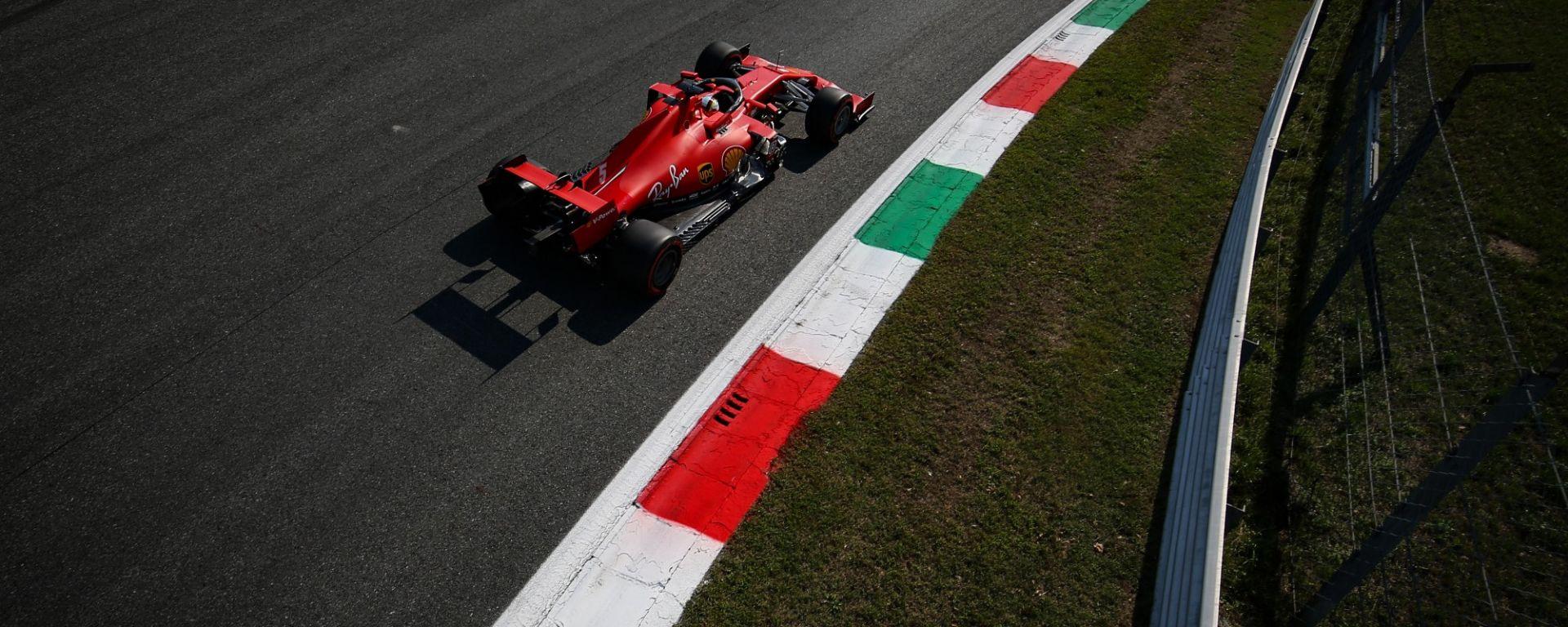 GP Italia 2020, Monza - Sebastian Vettel (Ferrari)