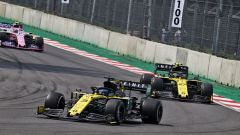 GP Messico 2019, Città del Messico Hermanos Rodriguez: Daniel Ricciardo e Nico Hulkenberg (Renault)