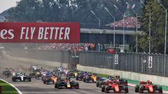 GP Messico 2019, Città del Messico Hermanos Rodriguez: la partenza