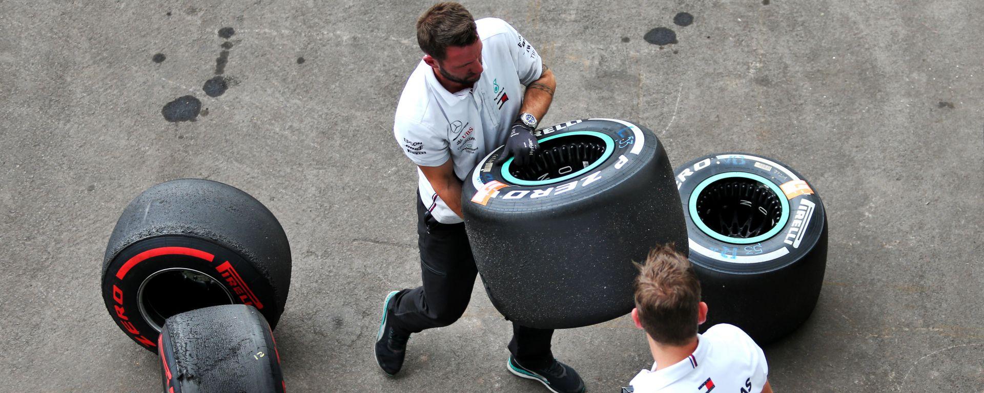 GP Messico 2019, Gomme Pirelli