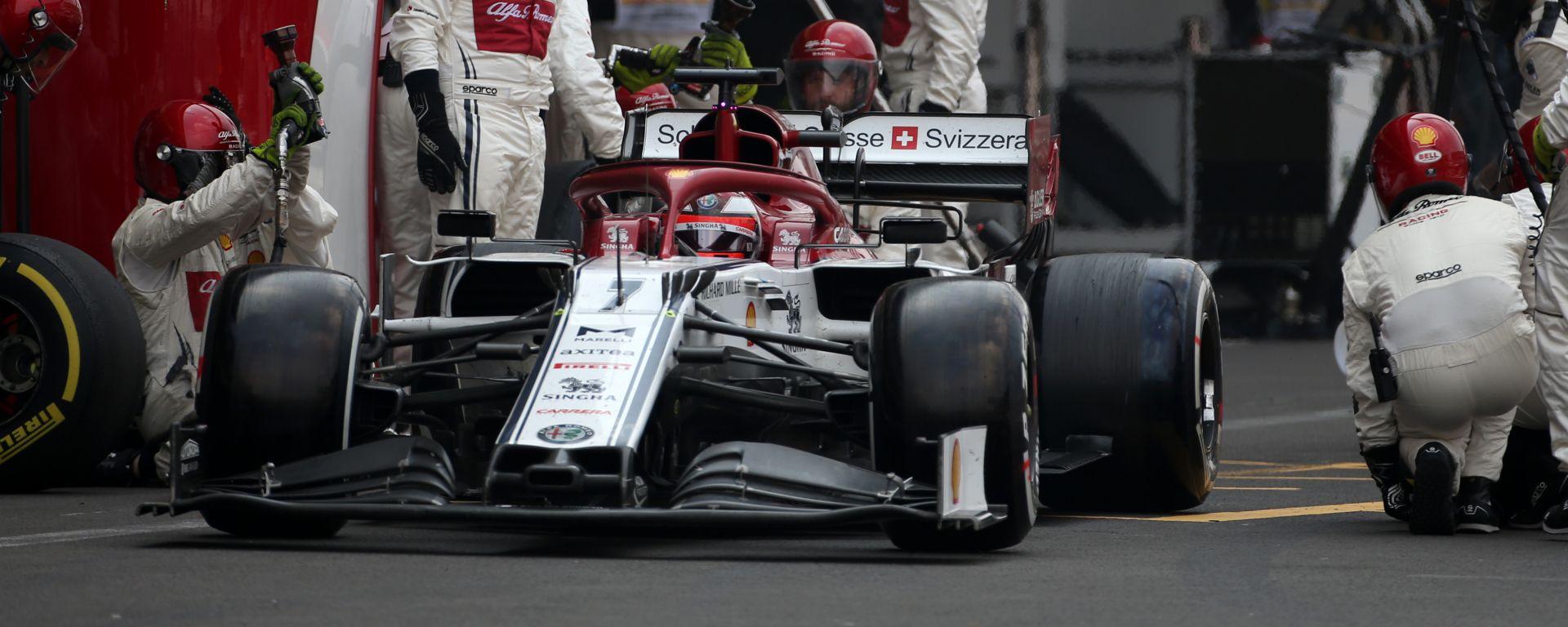 GP Messico 2019, Kimi Raikkonen (Alfa Romeo)