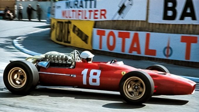 GP Monaco 1966, Monte Carlo, Lorenzo Bandini (Ferrari)