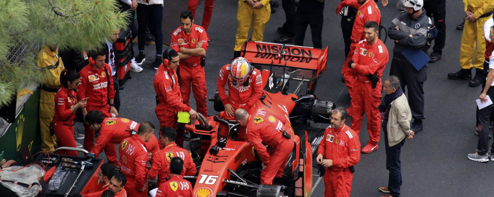 GP Monaco 2019, Charles Leclerc (Ferrari)