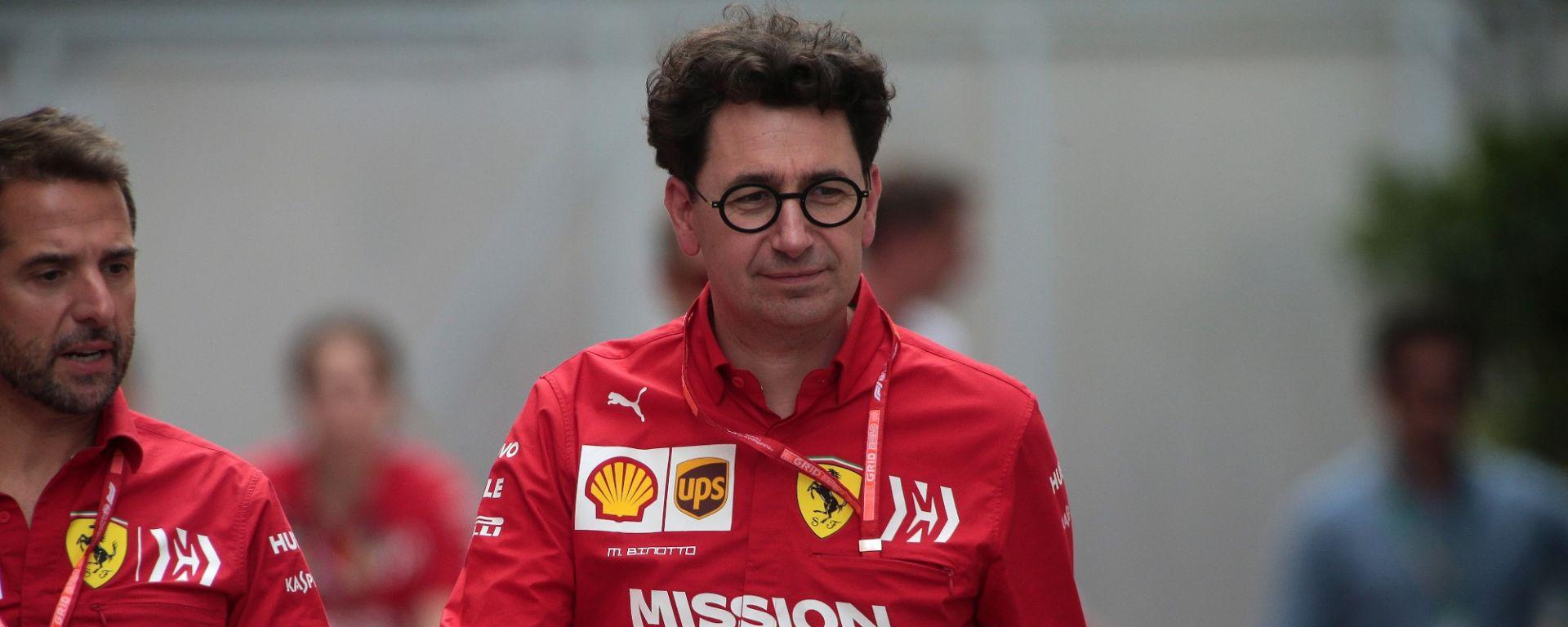 GP Monaco 2019, Mattia Binotto (Ferrari)