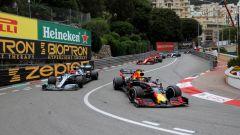 GP Monaco 2019, Max Verstappen (Red Bull) e Valtteri Bottas (Mercedes)
