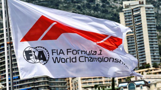 GP Monaco 2019, Monte Carlo, bandiera Formula 1-FIA