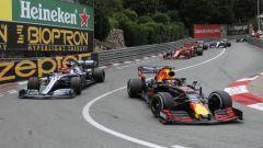 GP Monaco 2019, Monte Carlo, Max Verstappen (Red Bull) e Lewis Hamilton (Mercedes)