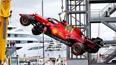 GP Monaco 2021, Monte Carlo: Charles Leclerc (Ferrari)