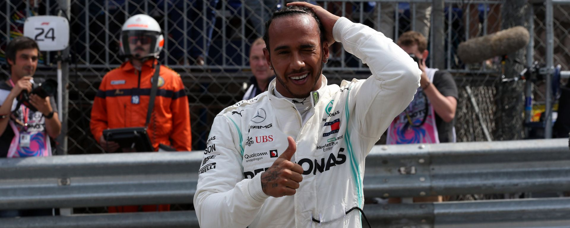 "GP Monaco, Hamilton primo: ""La pole è per Niki"""