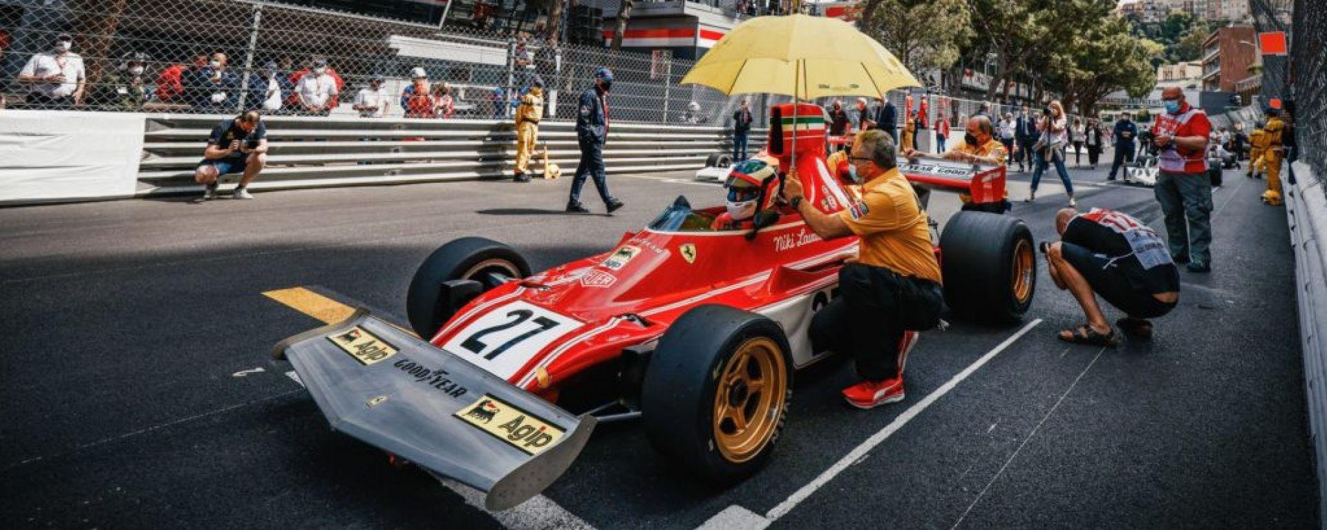 GP Monaco Historique 2021: Jean Alesi (Ferrari 312B3)