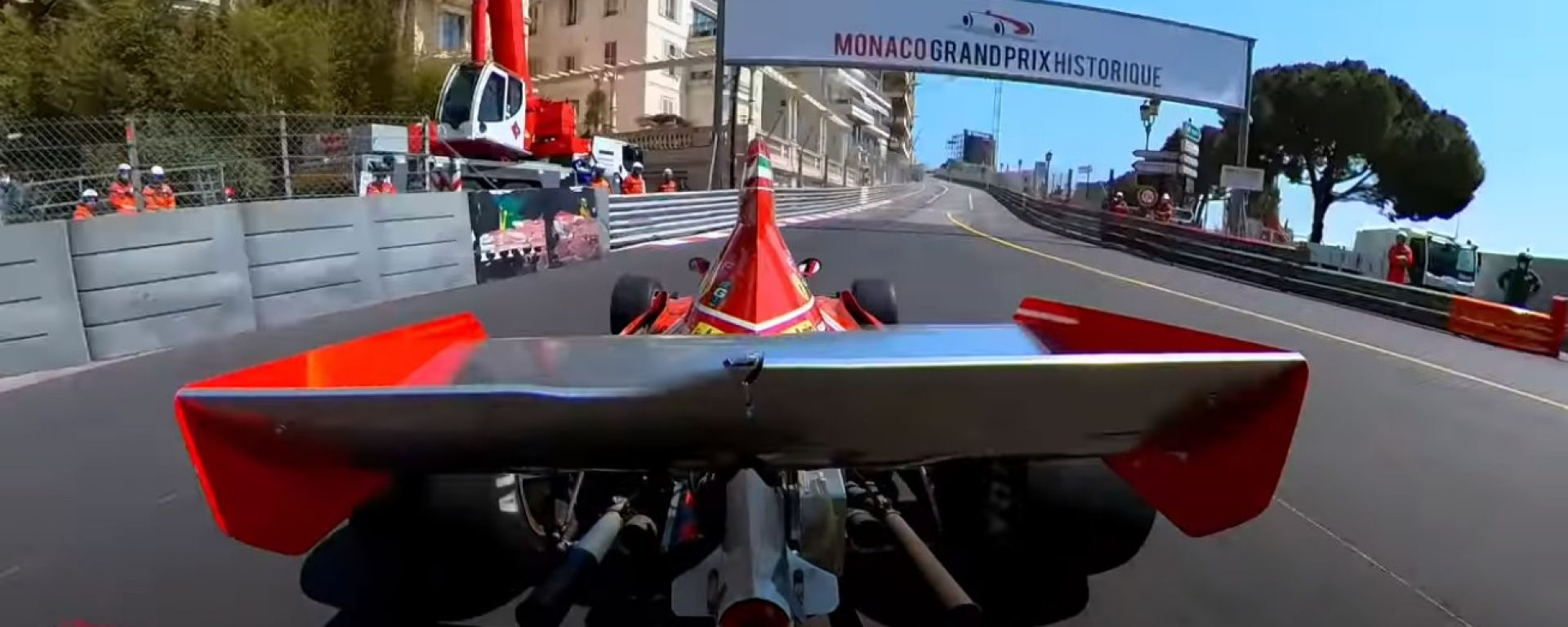 GP Monaco Historique 2021: onboard camera Ferrari 312B3 1974