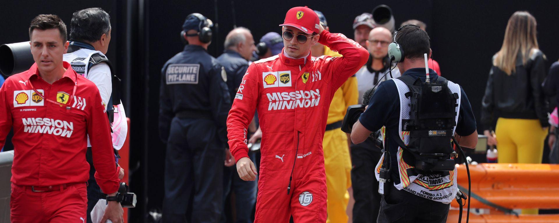 """GP Monaco, Leclerc 16°: """"Non possiamo uscire in Q1"""""""