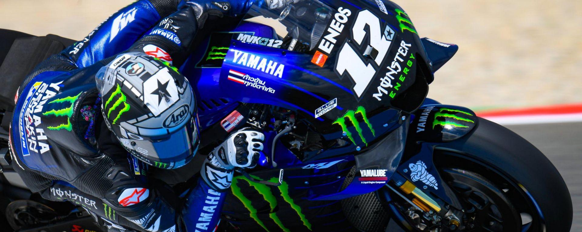 GP Olanda 2019, FP2, Maverick Vinales (Yamaha)