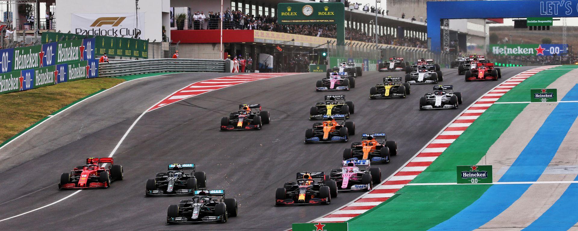 Gli ascolti tv del GP Portogallo 2020