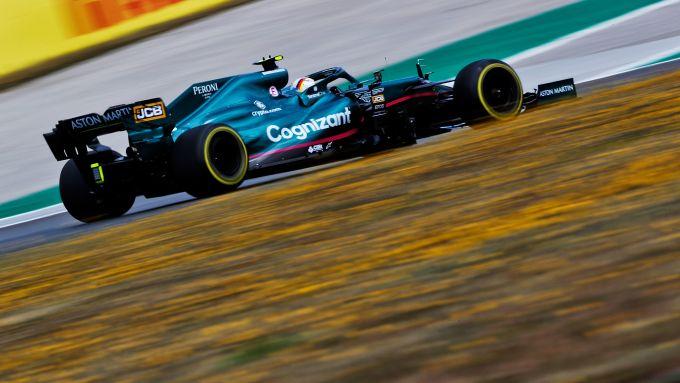 GP Portogallo 2021, Portimao: Sebastian Vettel (Aston Martin Racing)