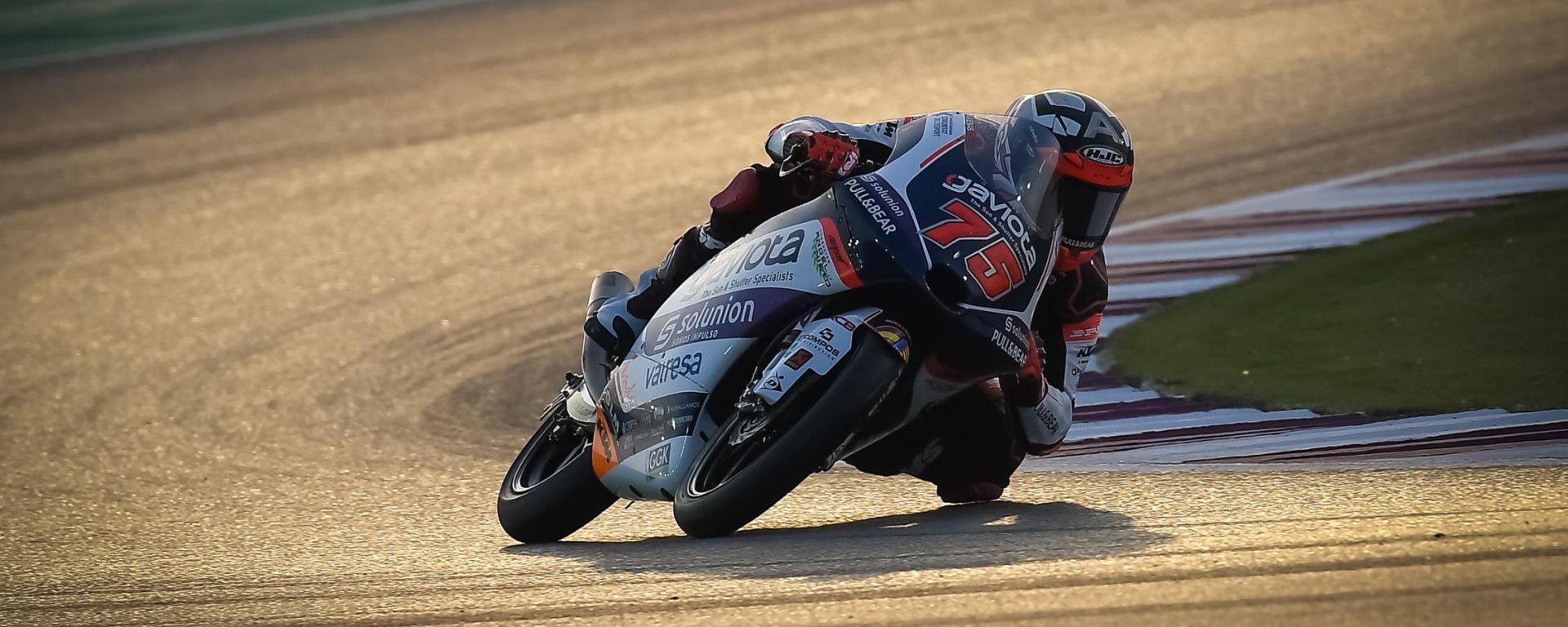 Moto3, GP Qatar: vince Arenas, sfortunato Arbolino
