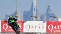 GP Qatar, Valentino Rossi ha concluso al comando la FP1