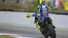 GP Rep. Ceca 2018, Valentino Rossi dopo la gara di Brno
