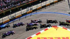 GP Russia 2019, la prima frenata della pista di Sochi