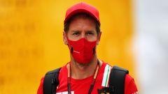 GP Russia 2020, Sochi: Sebastian Vettel (Ferrari)