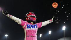 GP Sakhir 2020, il vincitore Sergio Perez (Racing Point)