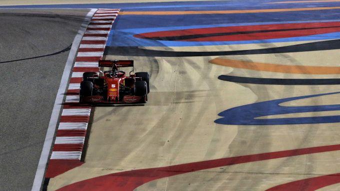 GP Sakrhi 2020, Sebastian Vettel (Ferrari)