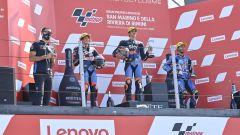 Moto2 San Marino: tripudio italiano! Vince Marini su Bez e Bestia