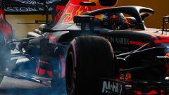 GP Singapore 2018, FP3, Max Verstappen in azione con la sua Red Bull