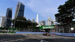 GP Singapore, FP1: le Red Bull subito minacciose, guida Ricciardo, Vettel 3°