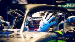 Gp Singapore 2018, Lewis Hamilton nel box della Mercedes