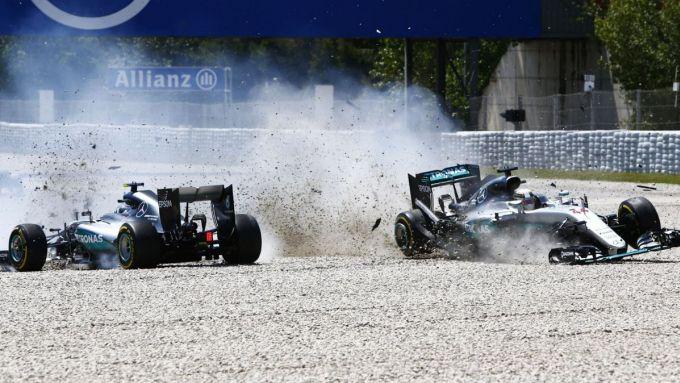 GP Spagna 2016, Barcellona: Mercedes, Lewis Hamilton vs Nico Rosberg