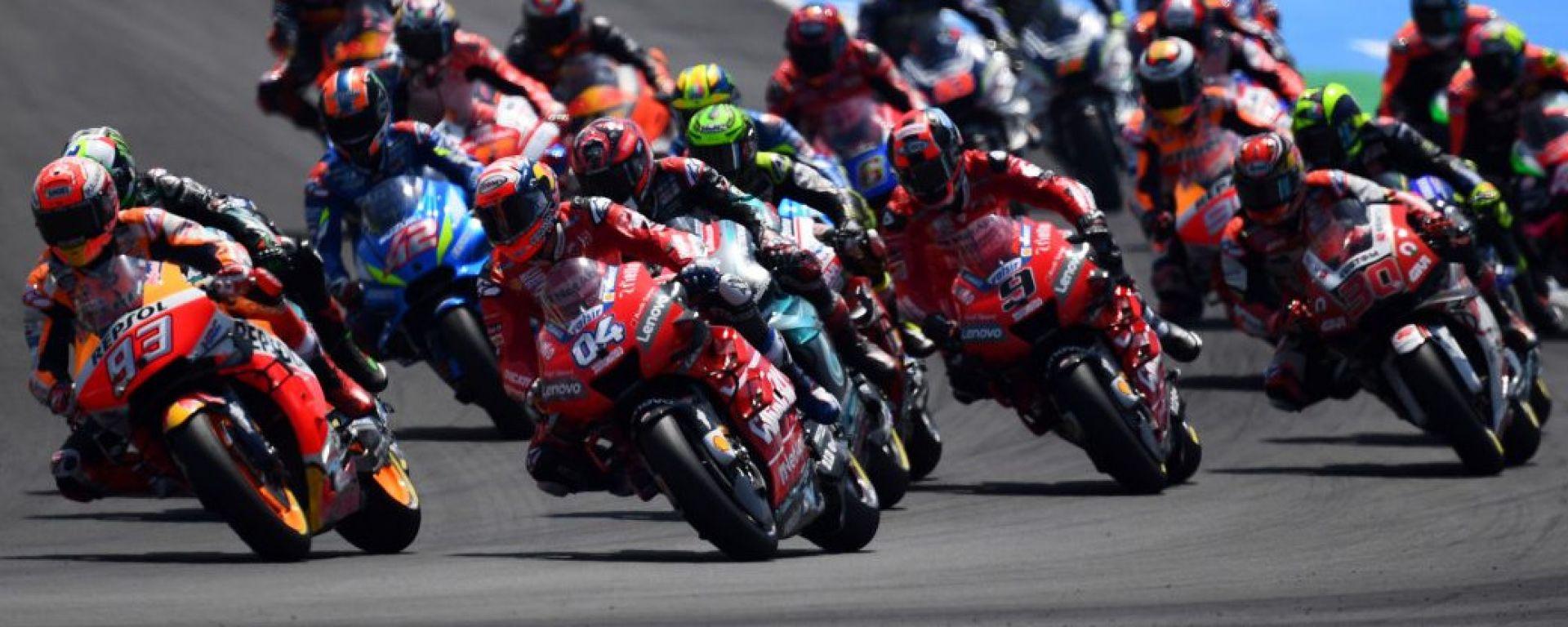 GP Spagna 2019, Jerez, la partenza