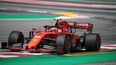 GP Spagna 2019, prove libere, Charles Leclerc (Ferrari)
